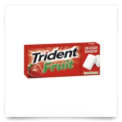 Trident Fruit Fresa Gragea de Trident