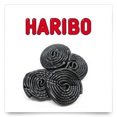 Discos Regaliz de Haribo