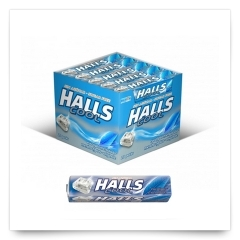 Halls Eucalipto Mentolado Sin Azúcar de Halls