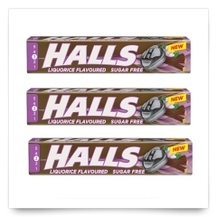 Halls Regaliz Sin Azúcar de Halls