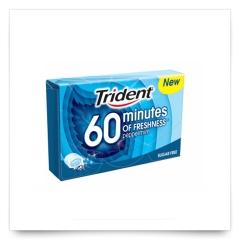 Trident 60 Minutes Menta de Trident