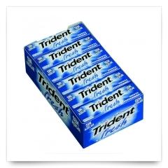 Trident Fresh Menta Láminas de Trident