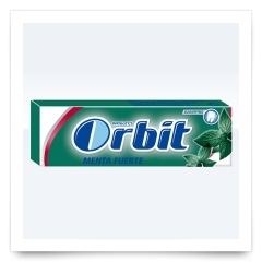 Orbit Gragea Menta Fuerte de Orbit
