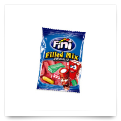Filled Mix Regaliz100gr de Fini