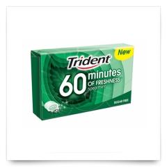 Trident 60 Minutes Hierbabuena de Trident