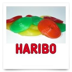 Discos Colores de Haribo